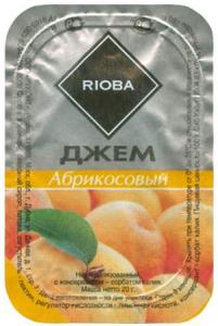 Джем порционный абрикосовый 20 гр./20 шт.