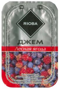 Джем порционный в ассортименте 20 гр./20 шт./