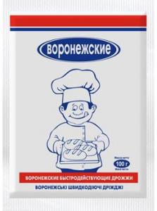 Дрожжи сухие 500 гр. ТМ Воронежские