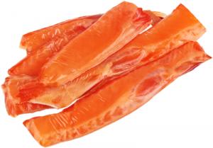 Филе лосося холодного копчения в/у вес.
