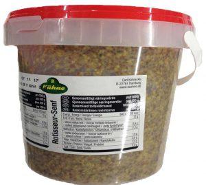 Горчица зернистая 1 кг. ТМ KUHNE Германия