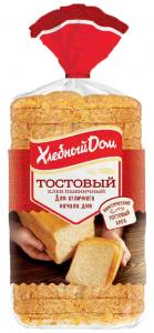 Хлеб тостовый 500 гр. ТМ Хлебный Дом