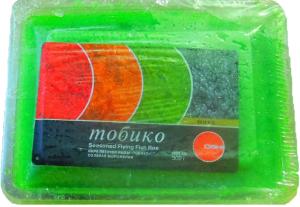 Икра Тобико зеленая 500 гр. ТМ OSHI