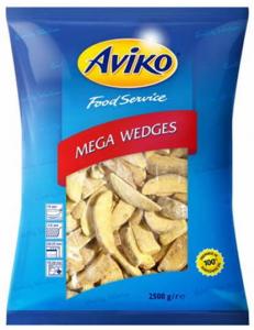 Картофель-фри с кожурой по-домашнему 10/14 мм 2,5 кг. ТМ AVIKO