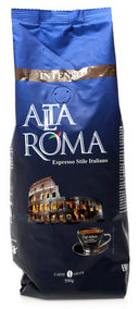 Кофе натуральный обжаренный в зернах 1 кг.ТМ ALTE AROMA