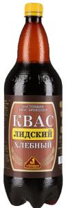 Квас хлебный тёмный 1.5 л./6 шт./  ТМ Лидский