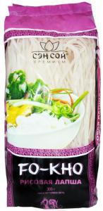 Лапша рисовая  СэнСой премиум 500 гр.