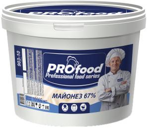 Майонез провансаль 67% ведро 10 л.ТМ Pro Food