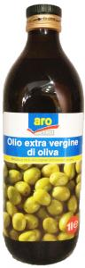 Масло оливковое нерафинированное EV стекло 1 л. Италия