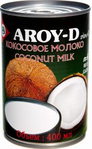 Молоко кокосовое ж/б 425 гр. ТМ AROY-D