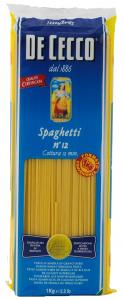 Паста Спагетти ДеЧекко №12 500 гр.
