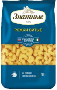 Рожки Знатные 500 гр./20/