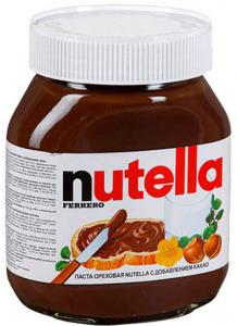 Шоколадная паста Нутелла 630 гр.