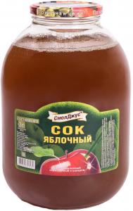 Сок Яблоко ТМ Смоленск  3л/4шт