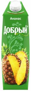Сок анасовый 1 литр ТМ Добрый