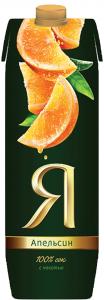 Сок апельсиновый ТМ Я 1 литр.