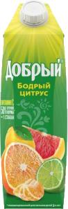 Сок грейпфрут  1 л.  ТМ Добрый