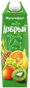 Сок мультифрут 1 литр ТМ Добрый