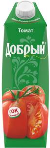 Сок томатный 1 литр ТМ Добрый