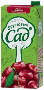 Сок вишневый Фруктовый сад 1,93 л.