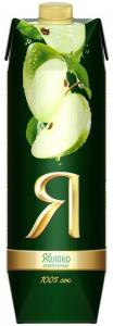 Сок яблочный ТМ Я 1 литр.