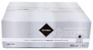 Соль порционная 1 грамм 800 шт/уп.