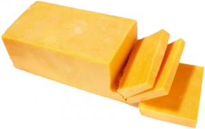 Сыр Чеддар оранжевый брус ~ 2 кг. Россия