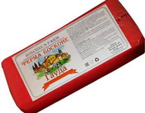 Сыр Гауда  45 % брус~4 кг. ТМ Ферма Босконе