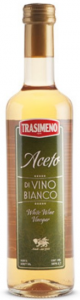 Уксус Трасимено винный белый 0.5л/12шт ст/б, ш