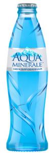 Вода Аква Минерале питьевая без газа 0,25 л стекло