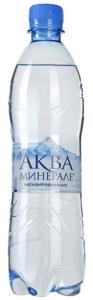 Вода  питьевая без газа 600 мл. /12 шт./ ТМ АКВА МИНЕРАЛЕ