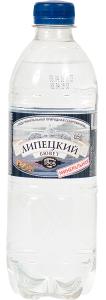 Вода  питьевая с газом 500 мл. /12 шт./ ТМ Липецкий Бювет