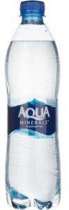 Вода  питьевая с газом 600 мл. /12 шт./ ТМ АКВА МИНЕРАЛЕ