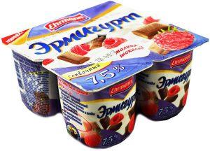 Йогурт 7.5% 115 гр. ТМ ЭРМИГУРТ