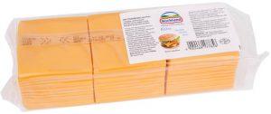 Сыр Чеддар оранжевый слайс 1,033 кг. ТМ HOHLAND