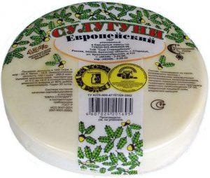 Сыр сулугуни 45% ~600 гр. ТМ Стародуб