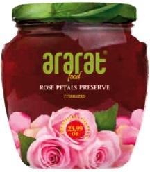 Варенье из лепестков розы Арарат в/c 375 гр,