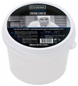 Сыр мягкий сливочный Кремчиз CooKing 70% 2.25кг